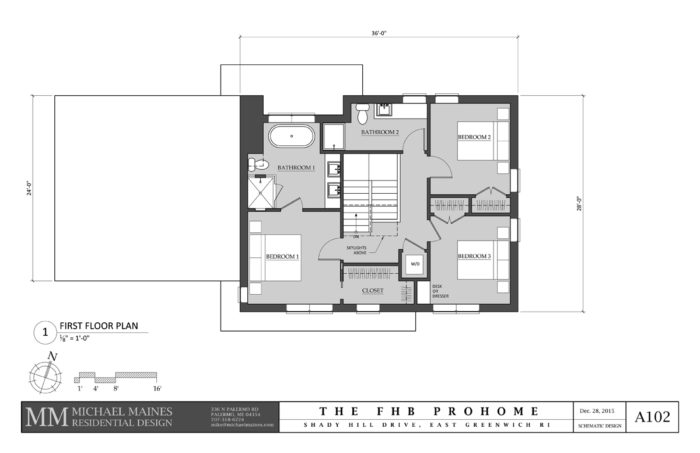 SCHEMATIC DESIGN 2: SECOND FLOOR PLAN