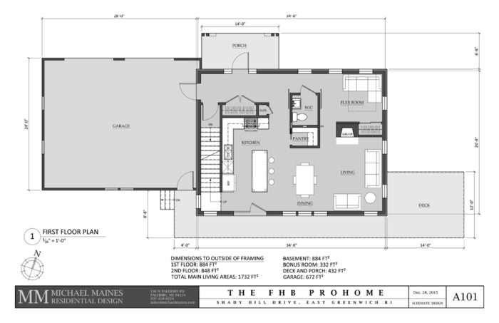 SCHEMATIC DESIGN 3: FIRST FLOOR PLAN