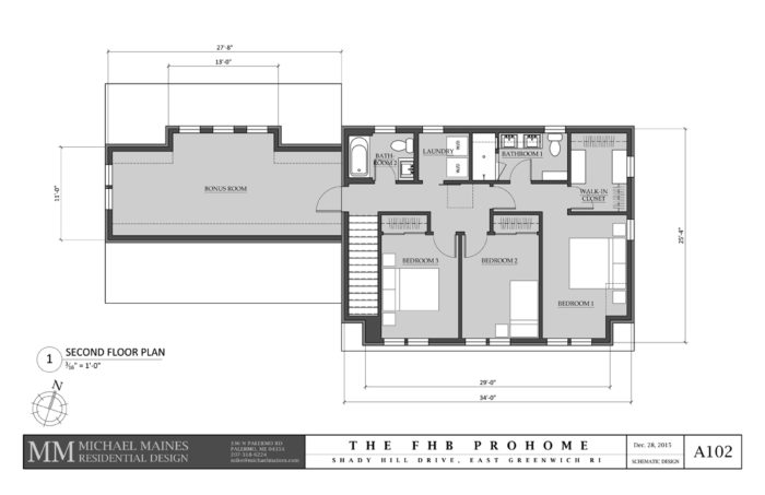 SCHEMATIC DESIGN 3: SECOND FLOOR PLAN
