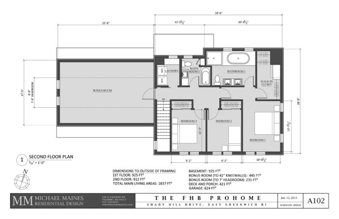 SCHEMATIC DESIGN 4: SECOND FLOOR PLAN