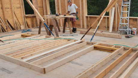 Wall Jacks For Framing master carpenter: fast and accurate wall framing - fine homebuilding