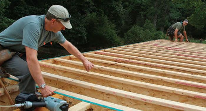 Building Skills Install A Subfloor Fine Homebuilding