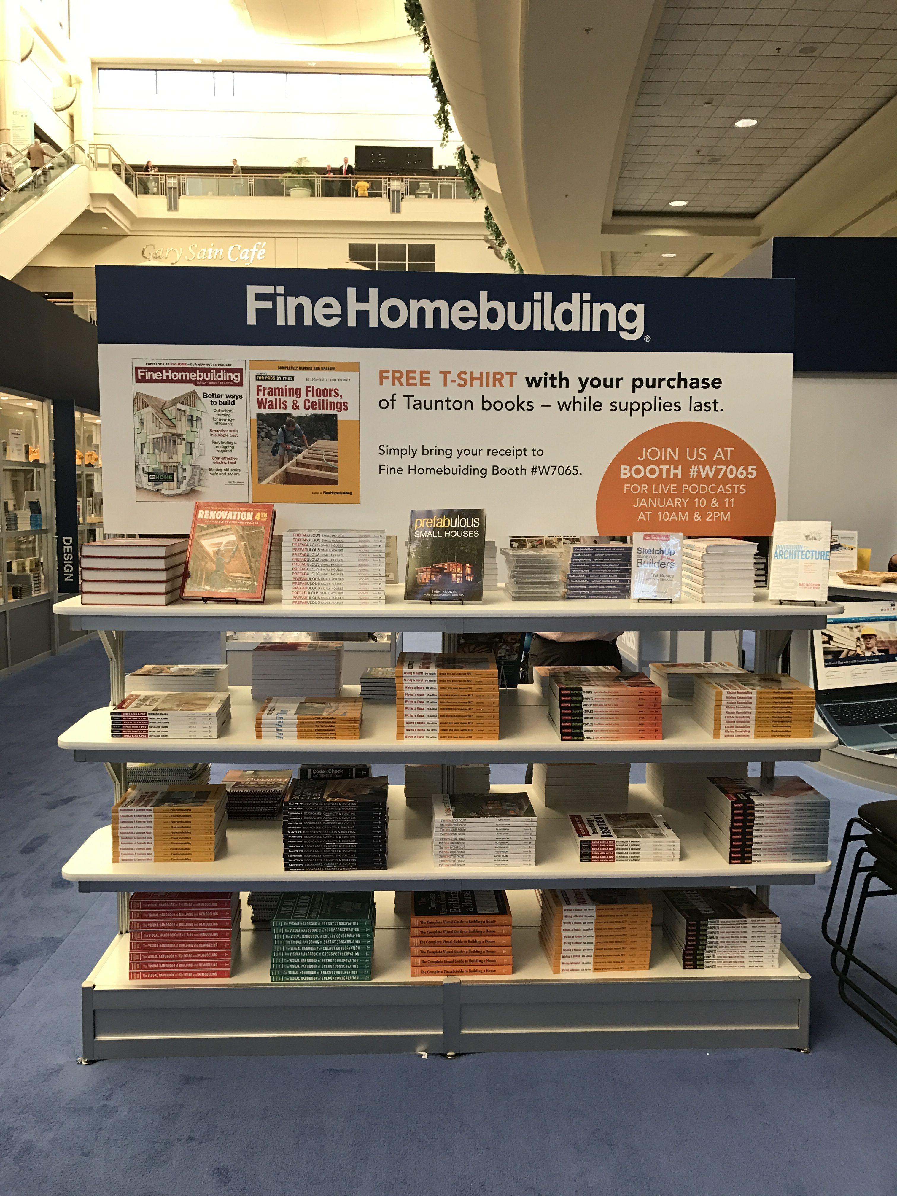 scenes from ibs 2017 fine homebuilding