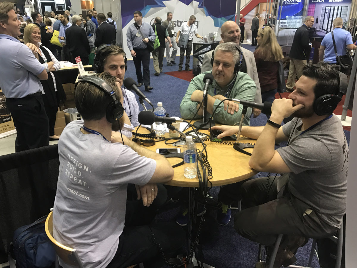 Justin interviews the boys from Boston in FHB Podcast Episode 31 from the 2017 International Builders' Show in Orlando, Fla.