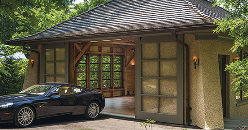 Arts crafts and automobiles fine homebuilding for Arts and crafts garage