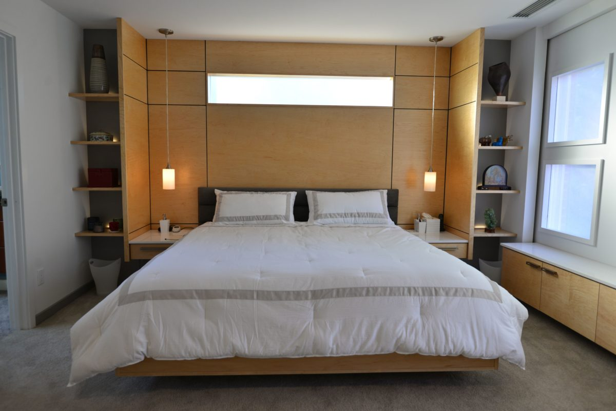 Master Bedroom Remodel with Rolling Wall - Fine Homebuilding