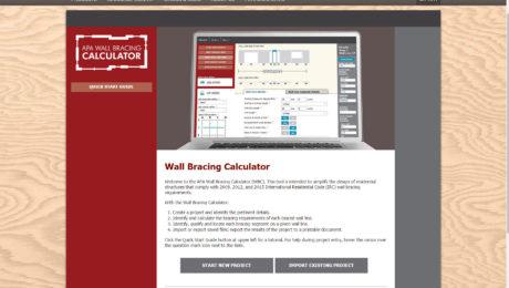 wall bracing calculator
