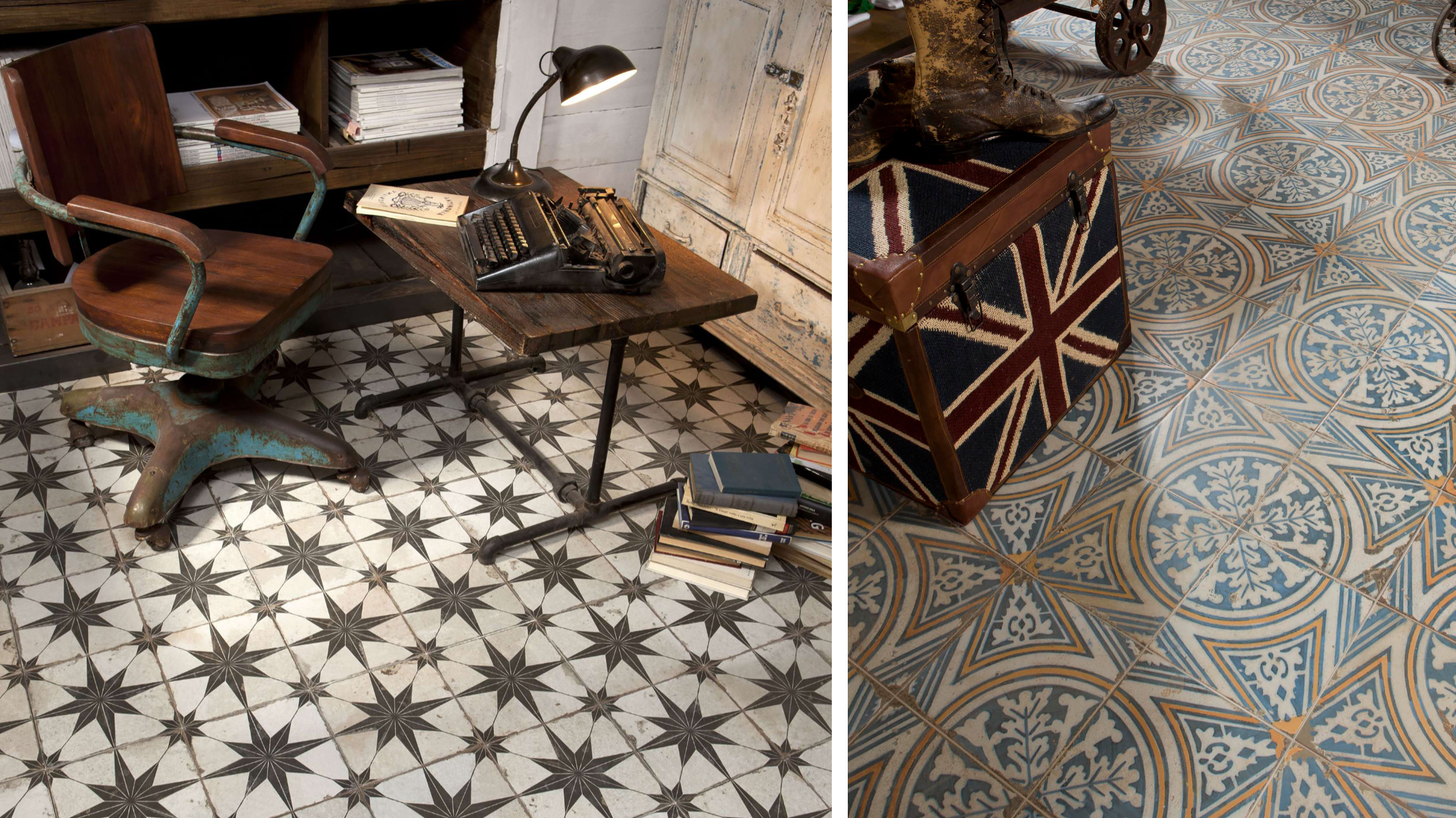 Antique floor tiles uk
