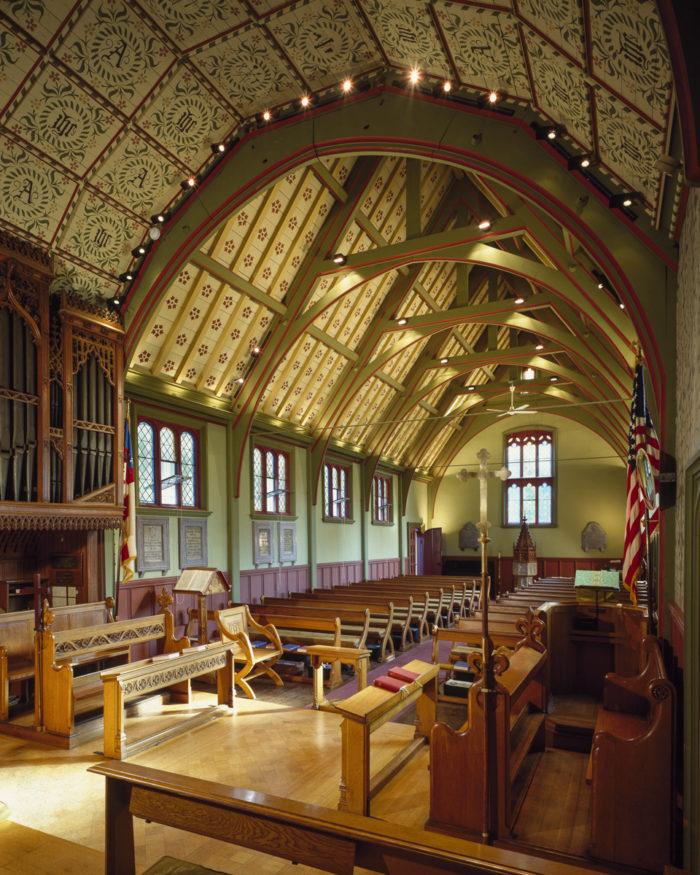 "Gothic Revival Interior Design a gothic revival ""revival"" - fine homebuilding"
