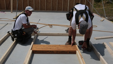 Wall Jacks For Framing raising walls with jacks - fine homebuilding