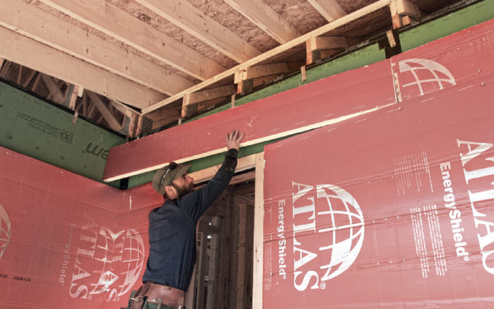 whether itu0027s to meet code or to adhere to a target more and more builders are adding a layer of rigid foam insulation on the outside of homes