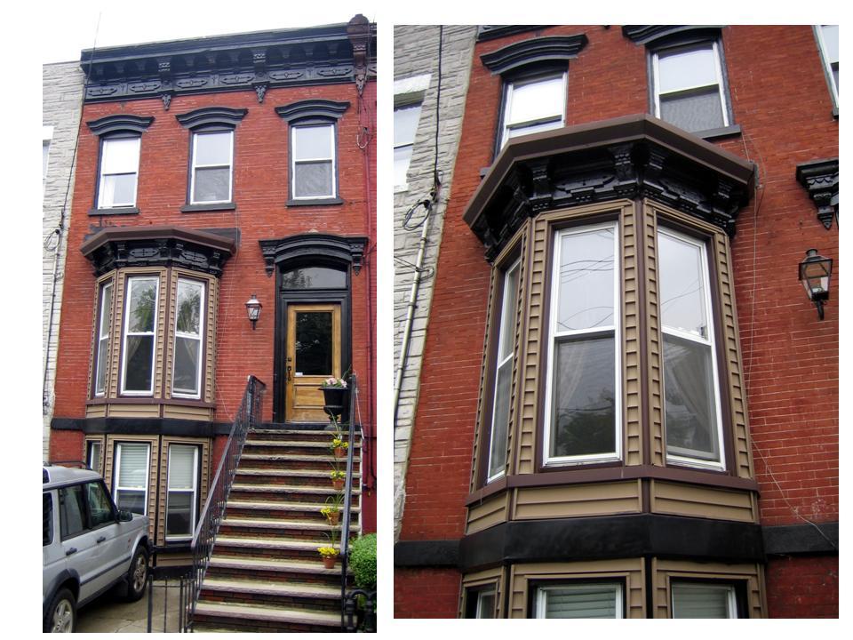 1880 39 s brick rowhouse bay window restoration fine for 1930s bay window construction