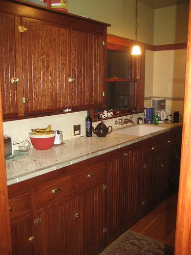 Salvaged Kitchen: 1910 Bungalow Restoration