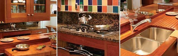 Kitchen design in the zone fine homebuilding for Kitchen design zones