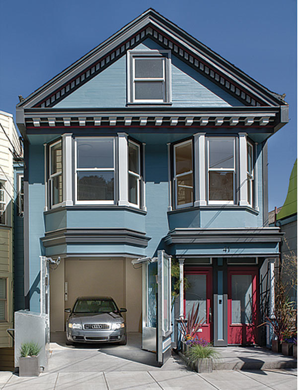 1900s Queen Anne Victorian Garage Remodel