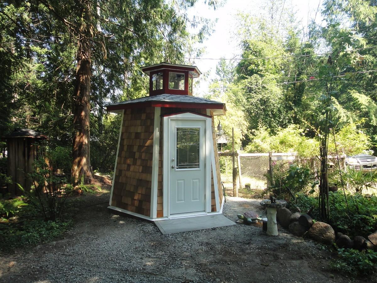 lighthouse garden shed fine homebuilding