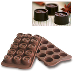 Photo of Silikomart Professional Vertigo Silicone Chocolate Mold View 1