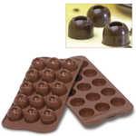 Photo of Silikomart Professional Imperial Silicone Chocolate Mold View 1