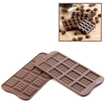 Photo of Silikomart Professional Tablette Silicone Chocolate Mold View 1
