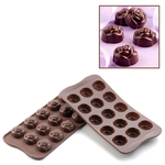Photo of Silikomart Professional Rose Silicone Chocolate mold View 1