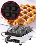 "Photo of Krampouz Commercial Waffle Maker - 4 X 7 Liège (120V) ""WECDHAAS"" View 1"
