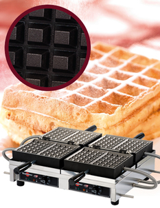 Photo of Krampouz Commercial Double Waffle Maker View 1