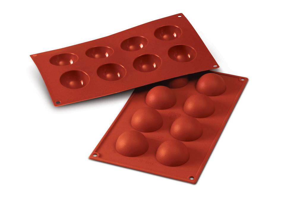 silikomart half sphere professional silicone mold finest cookware. Black Bedroom Furniture Sets. Home Design Ideas