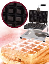 Photo of Krampouz Commercial Swivel Waffle Maker - 4x6 Bruxelles View 1