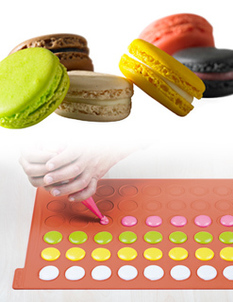 Photo of Silikomart Macaroon Silicone Mat View 1