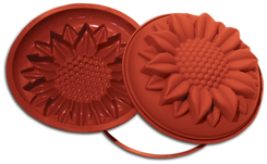 Photo of Silikomart Professional Sunflower Silicone Uniflex Mold View 1