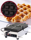 "Photo of Krampouz Commercial Single Waffle Maker  - 4 x 7 Liège ""WECDHAAT"" View 1"