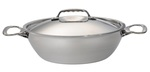 Photo of de Buyer Affinity Rounded Sauté Pan W/Lid & Two Handles View 1
