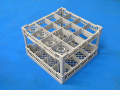 Photo of Lamber Glass Rack for Restaurant Commercial Dishwashers - CC00125 View 1