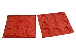 Photo of Silikomart Professional Christmas Silicone Chocolate Mold View 1