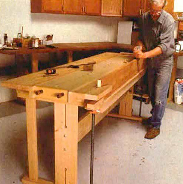 New-Fangled Workbench - FineWoodworking