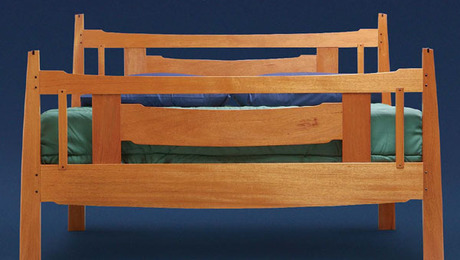Arts And Crafts Bed Plans Finewoodworking