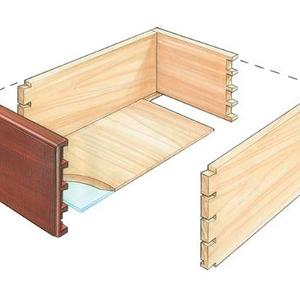 Free Plan A Simple Desk Organizer Finewoodworking