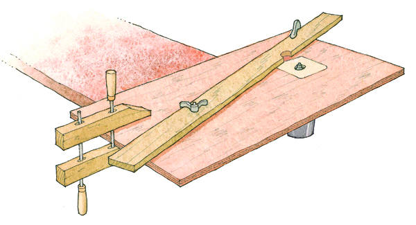 ... the free PDF woodworking plan for the minimalist router table