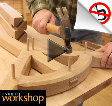 video workshop hayrake table