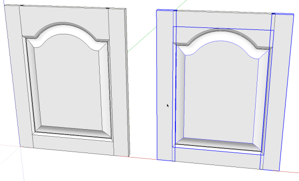 A Raised Panel Door with a Cathedral Panel - FineWoodworking