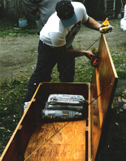 Finishing the Coffin