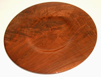 Turned platter. CLICK TO ENLARGE