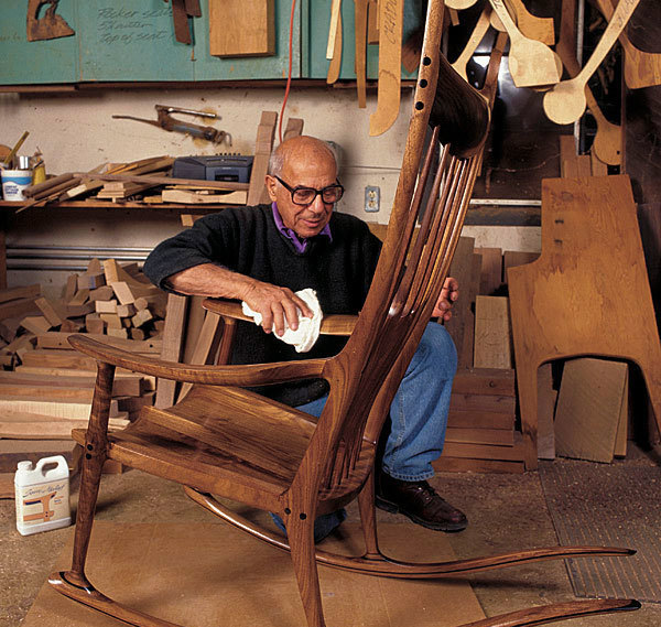 Sam Maloof on Building Chairs