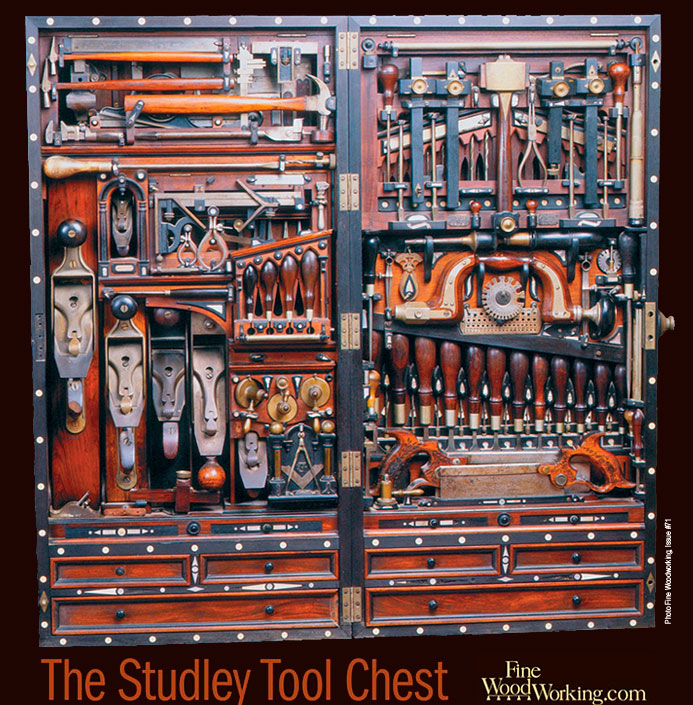 The Studley Tool Chest Gets a Facelift - FineWoodworking