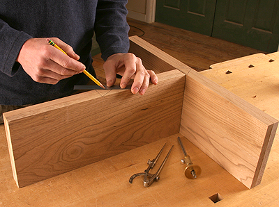 Keeping Track of Drawer Parts