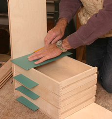 Jig for Side-hung Drawers