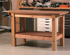 Woodworking Workbench