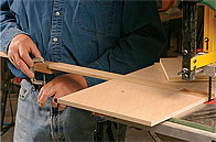 Michael Fortune Circle-Cutting Jig Sliding Arm
