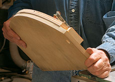 how to cut curves on a bandsaw