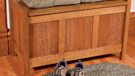 Weekend Project: Build an Arts and Crafts Storage Bench